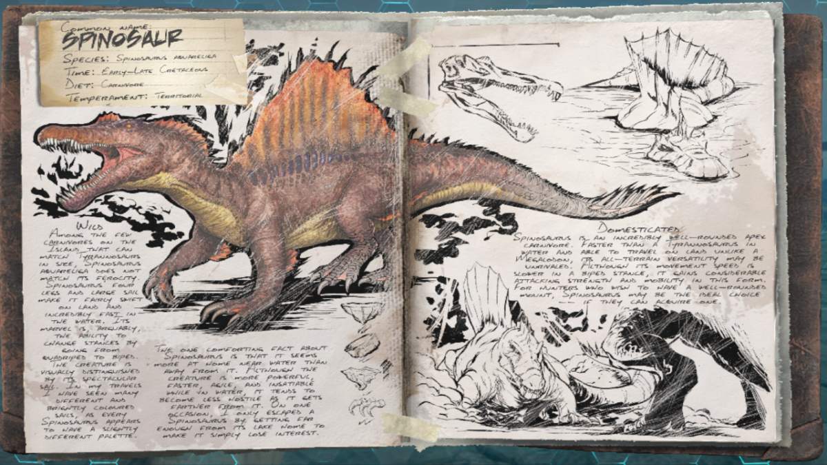 ARKスピノサウルス
