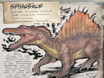 ARKスピノサウルス360270