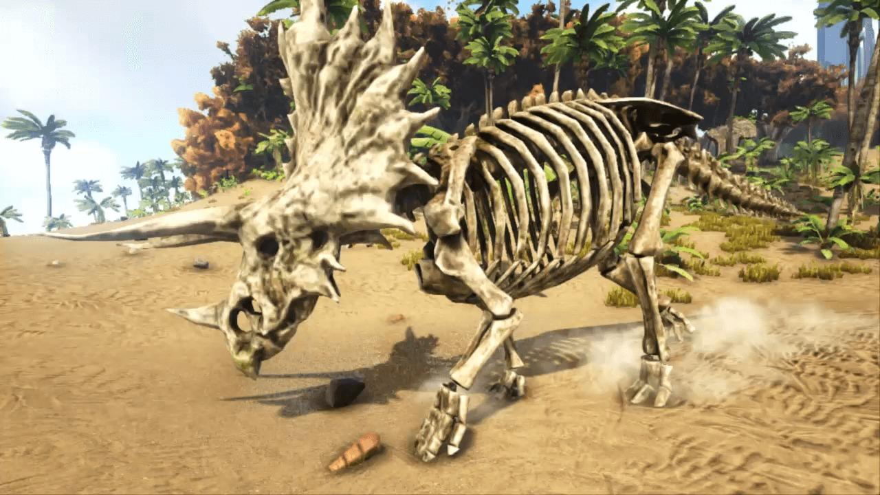 ARKスケルトン恐竜
