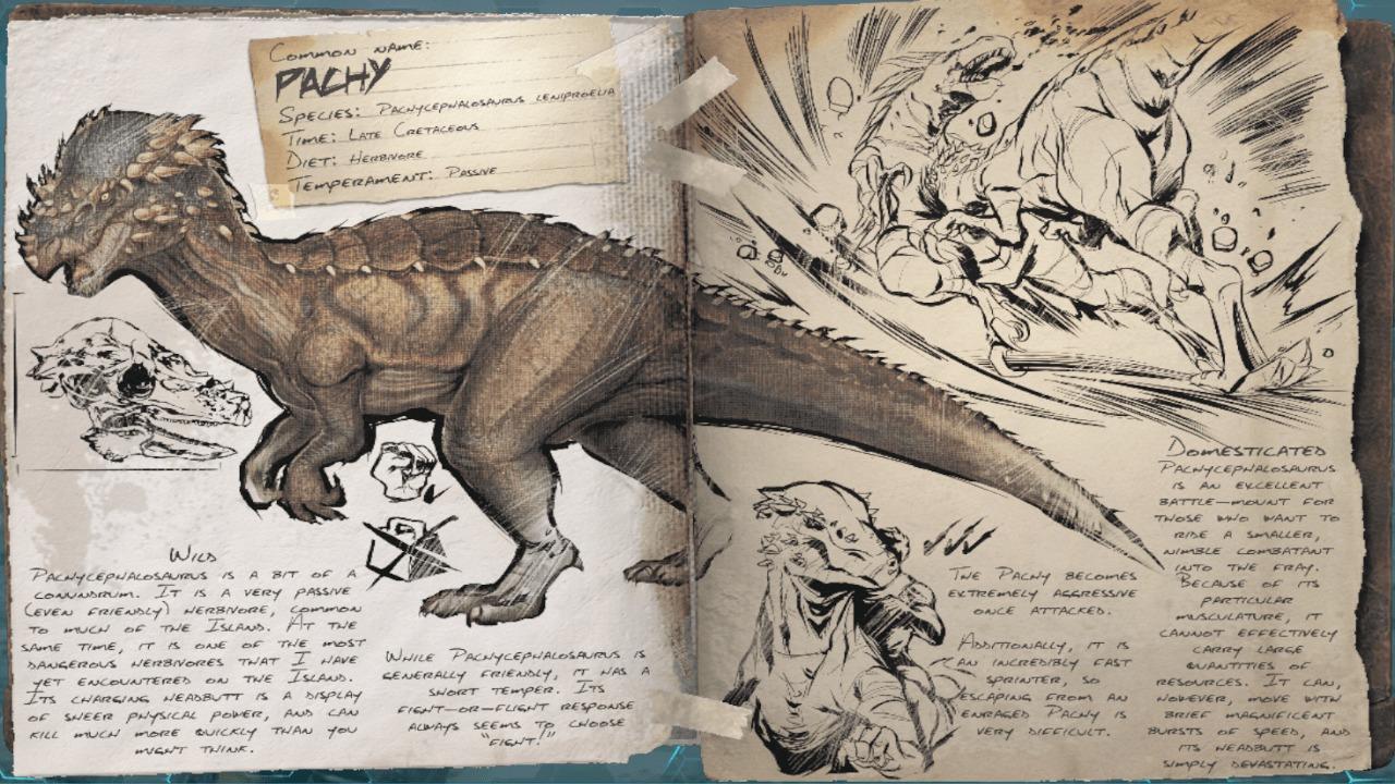 ARKパキケファロサウルス