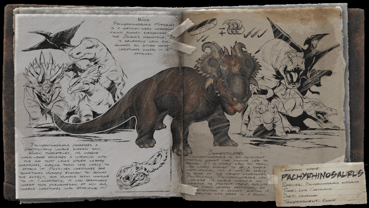 ARKパキリノサウルス